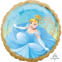 "18"" Cinderella Once Upon A Time 鋁膜氣球"