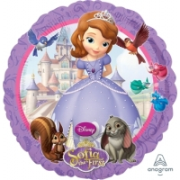 18'' Sofia the First 鋁膜氣球