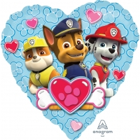 paw-patrol-love---boy 18''鋁膜氣球